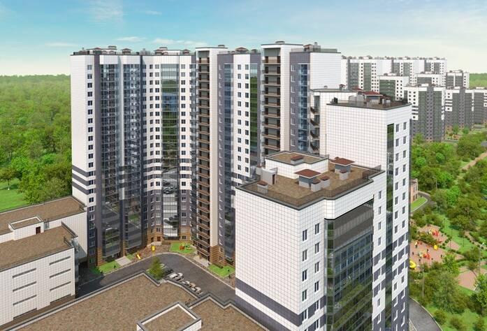 Визуализация проекта жилого комплекса «Ласточкино гнездо»