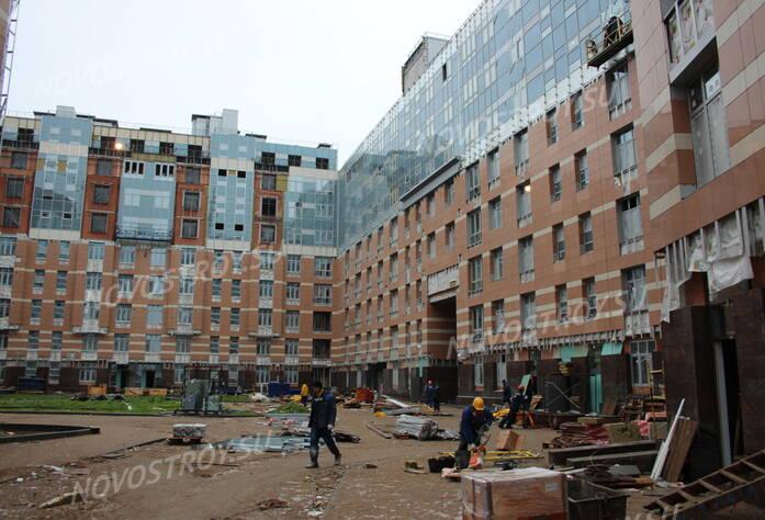 ЖК «Премьер Палас»: ход строительства (декабрь 2015)